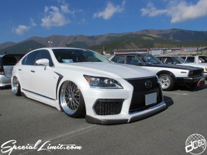 Stance Nation G Edition in Fuji Speedway 2013 LEXUS LS