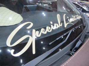 Nagoya Motor Show 2013 P.G.D Booth ek Custom Project by DC-601,Inc. Special Limit