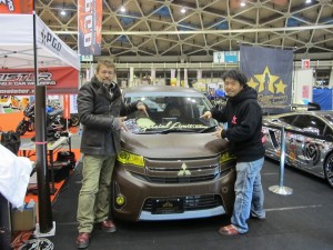 Nagoya Motor Show 2013 P.G.D Booth ek Custom Project by DC-601,Inc.