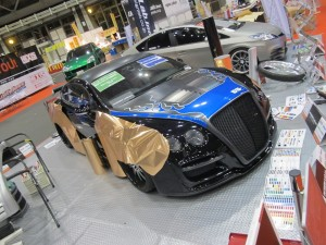 Nagoya Motor Show 2013 Wrapping Zone