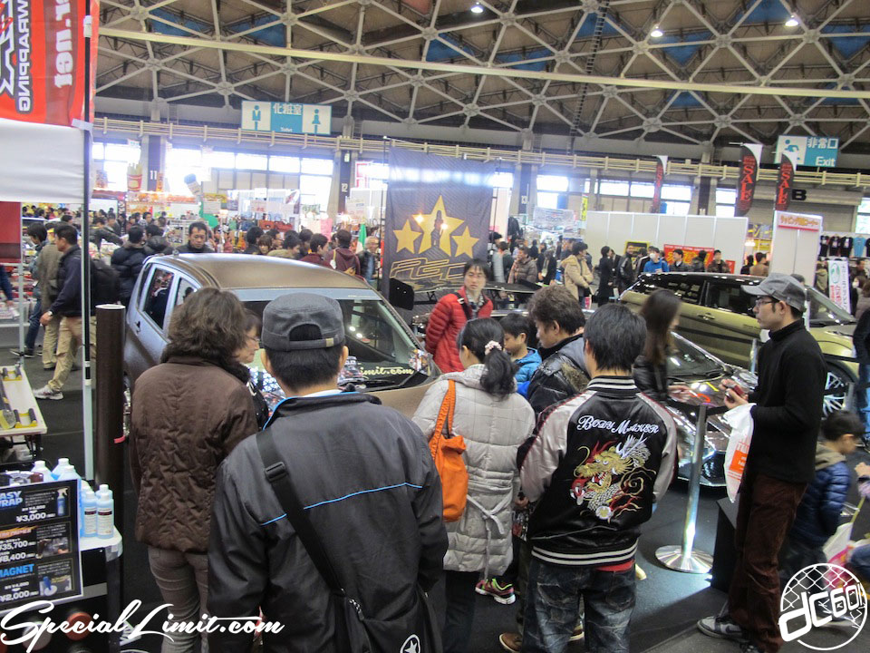 Nagoya Motor Show 2013 Part1. 〜ek Custom Project in P.G.D Booth〜