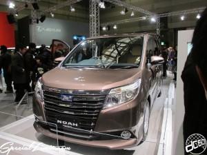 Nagoya Motor Show 2013 TOYOTA Booth NOAH Concept