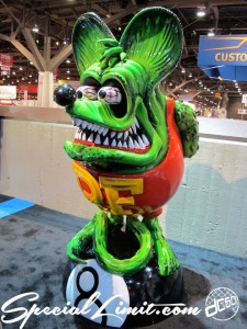 Merry Christmas 2013 SEMA Show Rat-Fink