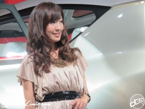 Nagoya Motor Show 2013 MITSUBISHI booth Image Girl 名古屋モーターショー 三菱 キャンペーンガール キャンギャル イメージガール5