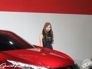 Nagoya Motor Show 2013 MITSUBISHI booth Image Girl 名古屋モーターショー