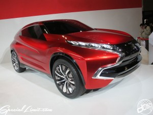 Nagoya Motor Show 2013 MITSUBISHI booth Concept Car