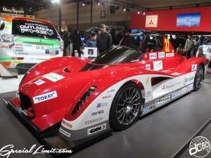 Nagoya Motor Show 2013 MITSUBISHI booth Race Car 名古屋モーターショー 三菱 レースカー