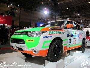 Nagoya Motor Show 2013 MITSUBISHI booth Race Car 名古屋モーターショー 三菱 レースカー2