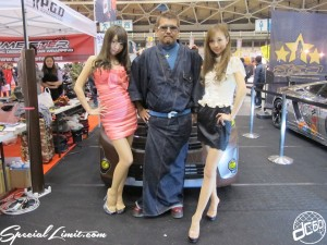 ek Custom Project by dc601 Nagoya Motor Show 2013 Wrapping Group Booth PGD MORI sisters