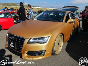 Stance Nation Japan スタンスネイション ジャパン  G-Edition 2013 fuji speedway E:s Audio Zone Audi Forgiato