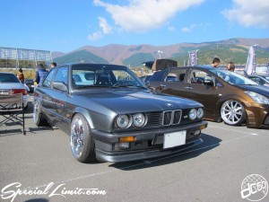 Stance Nation G Edition in Fuji Speedway 2013 BMW E30