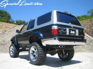 dc601 produce custom car 2tone hi-lux surf toyota lift up now wheel