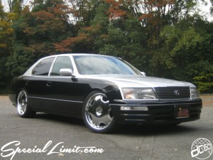 dc601 produce custom car 2tone lexus ls400 lowenhart