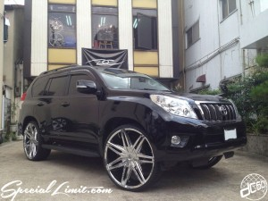 dc601 produce custom car 2012 toyota land cruiser prado 150 lexani lust 26""