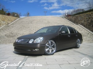 dc601 produce custom car matte blown color lexus gs dub spin spinner luxg