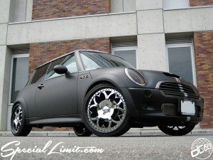 dc601 produce custom car  2007 racing matte 2tone bmw mini cooper s aza forgied 20""