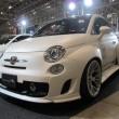 Tokyo Auto Salon 2014 in Makuhari messe fiat500 wide body