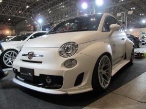 Tokyo Auto Salon 2014 in Makuhari messe fiat500 wide body 東京オートサロン 幕張メッセ