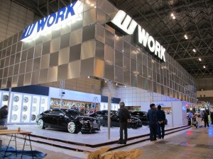 Tokyo Auto Salon 2014 in Makuhari messe WORK Booth 東京オートサロン