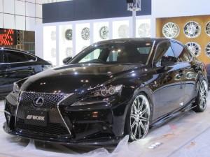 Tokyo Auto Salon 2014 in Makuhari messe lexus is 東京オートサロン 幕張メッセ