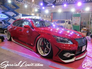 Tokyo Auto Salon 2014 in Makuhari messe LEXUS LS 東京オートサロン 幕張メッセ