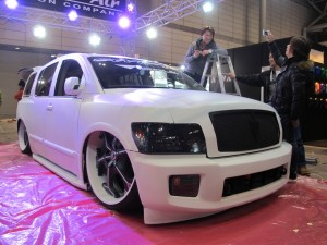 Tokyo Auto Salon 2014 in Makuhari messe 5せんと QX Slammed 東京オートサロン