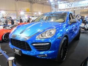 Tokyo Auto Salon 2014 in Makuhari messe PORSCHE Cyenne 東京オートサロン