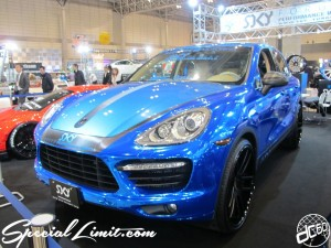 Tokyo Auto Salon 2014 in Makuhari messe AZZURE Motoring PORSCHE Cayenne 東京オートサロン 幕張メッセ