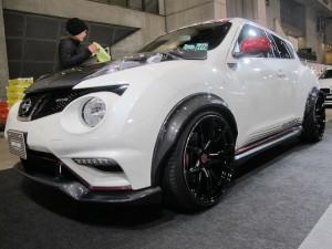 Tokyo Auto Salon 2014 in Makuhari messe Wide body juke 東京オートサロン