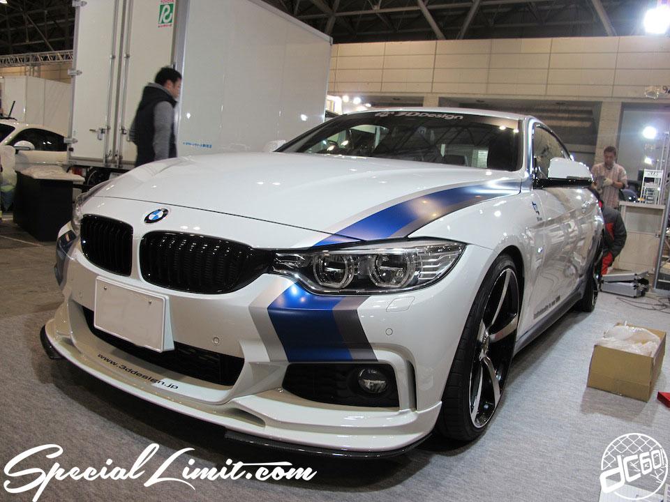 Tokyo Auto Salon 2014 in Makuhari messe BMW