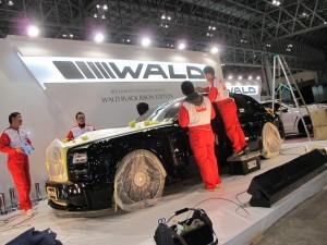 Tokyo Auto Salon 2014 in Makuhari messe WALD 東京オートサロン