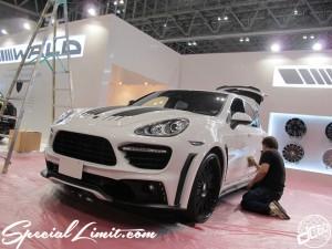 Tokyo Auto Salon 2014 in Makuhari messe porsche cyenne 東京オートサロン 幕張メッセ