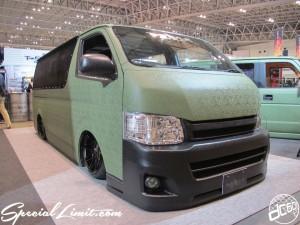 Tokyo Auto Salon 2014 in Makuhari messe HIACE 東京オートサロン 幕張メッセ