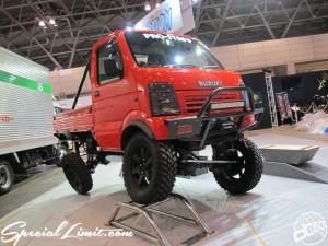 Tokyo Auto Salon 2014 in Makuhari messe lift up 東京オートサロン 幕張メッセ