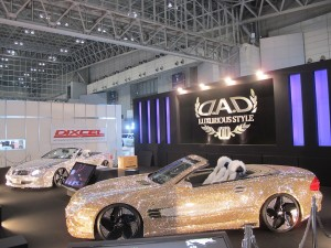 Tokyo Auto Salon 2014 in Makuhari messe dad crystal benz 東京オートサロン 幕張メッセ