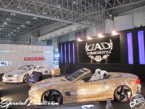 Tokyo Auto Salon 2014 in Makuhari messe dad crystal 東京オートサロン 幕張メッセ