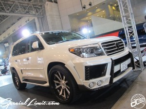 Tokyo Auto Salon 2014 in Makuhari messe land cruiser 200 東京オートサロン 幕張メッセ