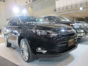 Tokyo Auto Salon 2014 in Makuhari messe New Harrier esprit 東京オートサロン 幕張メッセ