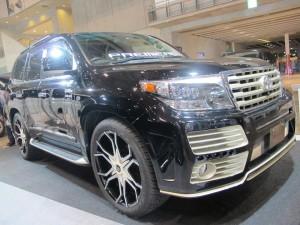 Tokyo Auto Salon 2014 in Makuhari messe land cruiser esprit 東京オートサロン 幕張メッセ