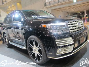 Tokyo Auto Salon 2014 in Makuhari messe esprit land cruiser new body kit crimson 東京オートサロン 幕張メッセ