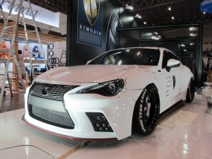 Tokyo Auto Salon 2014 in Makuhari messe AIMGAIN 東京オートサロン 幕張メッセ