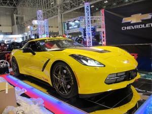 Tokyo Auto Salon 2014 in Makuhari messe C7 Corvette 東京オートサロン 幕張メッセ
