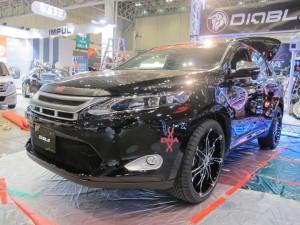 Tokyo Auto Salon 2014 in Makuhari messe new harrier diabro 東京オートサロン 幕張メッセ