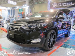 Tokyo Auto Salon 2014 in Makuhari messe new harrier diablo 東京オートサロン 幕張メッセ