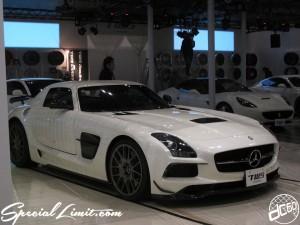 Tokyo Auto Salon 2014 in Makuhari messe TWS AMG SLS 東京オートサロン 幕張メッセ