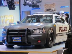 Tokyo Auto Salon 2014 in Makuhari messe police dodge 東京オートサロン 幕張メッセ