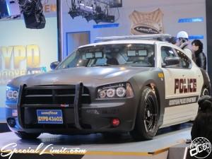 Tokyo Auto Salon 2014 in Makuhari messe goodyear police 東京オートサロン 幕張メッセ