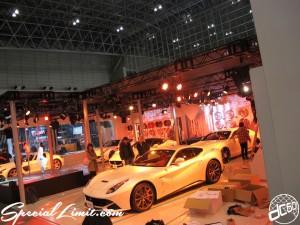 Tokyo Auto Salon 2014 in Makuhari messe ferrari 東京オートサロン 幕張メッセ