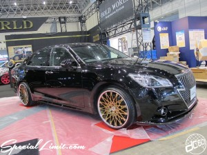 Tokyo Auto Salon 2014 in Makuhari messe bold world crown crimson rs wire 東京オートサロン 幕張メッセ