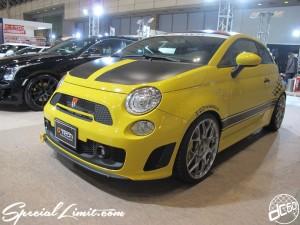 Tokyo Auto Salon 2014 in Makuhari messe fiat 500 東京オートサロン 幕張メッセ